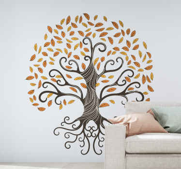 Beautiful tree of life wall art decal to customize your home or any other space of your desire to give it a touch of elegance.
