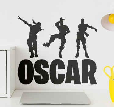 This cool and unique fortnite wallsticker product will surely bring your room so much more light! Buy this design now! Dance and win today!