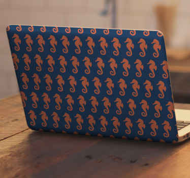 Belle décalcomanie animale de la vie marine décorative pour la décoration d'ordinateur portable. Sa conception représente différentes impressions