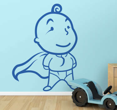 Superbaby Wall Sticker
