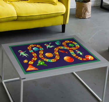 Board game space furniture sticker - It is lovely and would cover your table or desk surface with a very beautiful look.