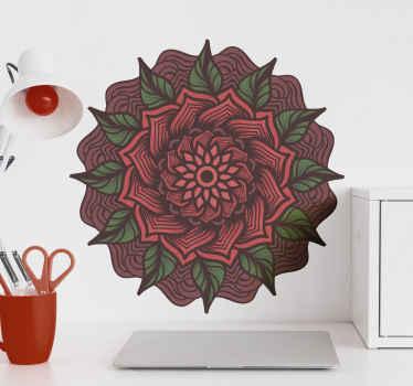 このとてもかわいい見た目のマンダラフラワービニールラグ製品はあなたの家で非常に長持ちします!このかわいいデザインを今日注文してください!