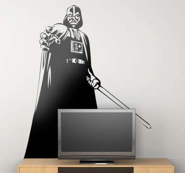 Wandtattoo Darth Vader Power
