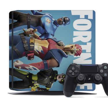 Aquí tenemos para ti un increíble vnilo PS4 de personajes fortnite para personalizar tu consola y mando de juegos ¡Envío exprés!