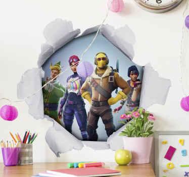 Personaliza la pared de tu dormitorio u de tu hijo con este vinilo para niños 3D con jugadores. Elige las medidas ¡Descuentos disponibles!