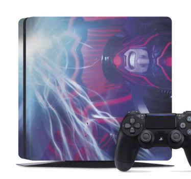 Vinilo PS5 Fortnite para que decores tu consola y los mandos con este diseño único de Fortnite ¡Elige tu modelo! ¡Envío exprés!