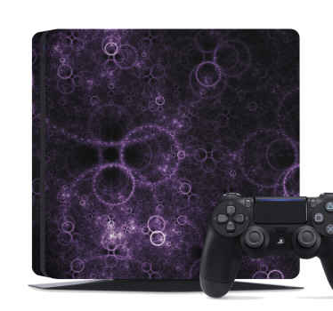 Get this amazing Abstract circles PlayStation vinyl skin? Extremely long-lasting Get yours right now! We will give you home delivery!