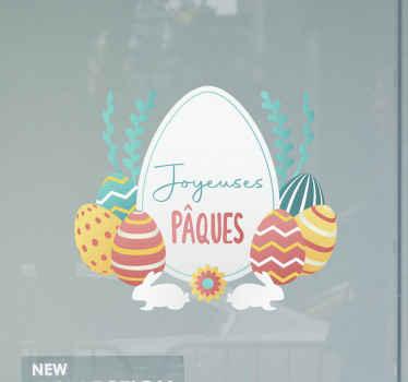 Pâques est presque là, il est donc temps de décorer votre maison avec des stickers en verre incroyables de tenstickers! Commandez le vôtre maintenant!