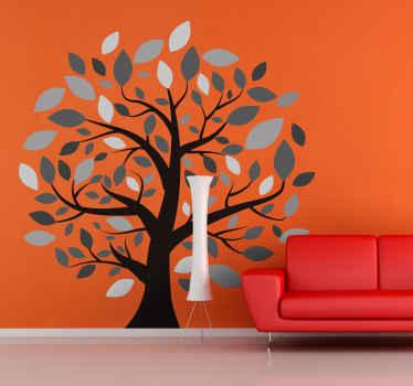 Vinil decorativo árbol de muchas ramas