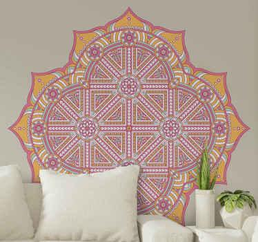 autocolante árabe com ilustração de flores árabes decorativas e ornamentais que vão trazer um toque super original e exclusivo.
