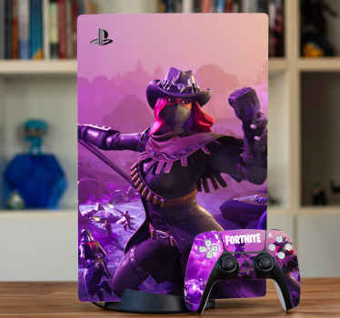 Playstation için fortnite battle royal ps5 vinil çıkartması. Grafik, süper net dövüş illüstrasyonuyla harika. Uygulaması kolay ve dayanıklıdır.