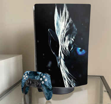 Enjoy your gaming with your console and controller covered in this amazing game of throne movie series PS skin illustration sticker.