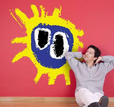 Sticker logo Primal Scream