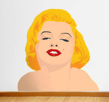 Sticker film Monroe sensuelle