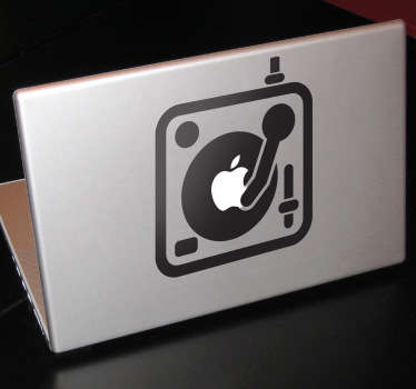 Sticker table mixage Apple