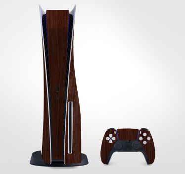 Enveloppez complètement votre console de jeu et votre contrôleur avec notre peau de bois de cerisier ps5decal pour aimer encore plus votre appareil.