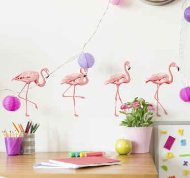 An amazing design of sets of flaming bird decal for your home decoration. The flaming bird vinyl decal is self adhesive, wrinkle proof and durable.