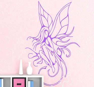Fairy Tattoo Decorative Sticker