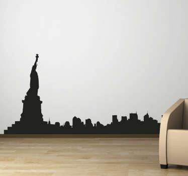 Sticker décoratif ville de New York