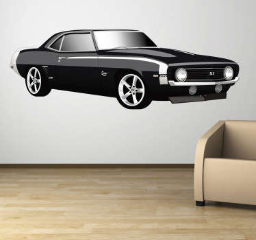 Chevrolet Camaro Wall Sticker