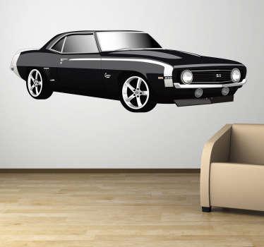 Naklejka Chevrolet camaro