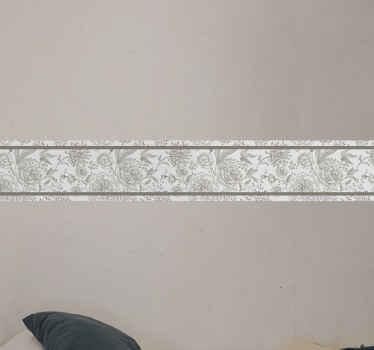 ローズシームレスヴィンテージパターン家具デカール-製品は高品質の素材、粘着性、いつでも取り外し可能で作られています。