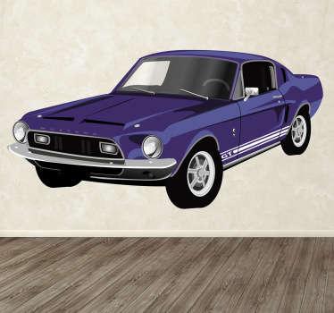 Sticker decorativo Ford Mustang