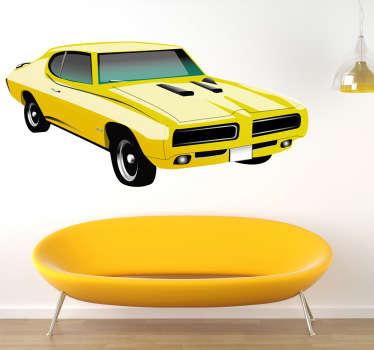 Naklejka Pontiac gto 1970