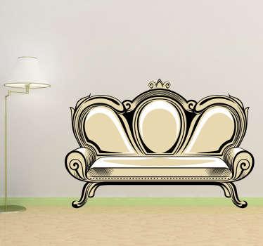 Sticker sofa elegant