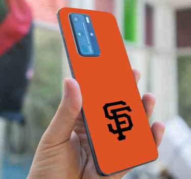 San Francisco symbol Huawei sticker - It is easy to apply and can be removed.  Made with quality vinyl which make sit not to crease.