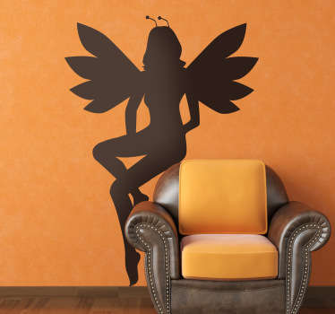 Kids Young Fairy Wall Sticker