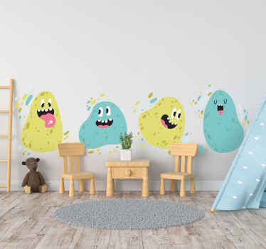 Do your kids love monsters? Then this is the amazing kids bedroom wall sticker you have to get for them! Don't wait any longer and order today!