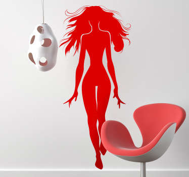 Adhésif mural mannequin sexy