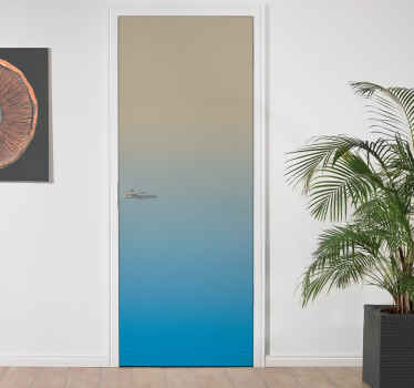 There are many reasons why you could opt for our door stickers. Let yourself be convinced by our new door stickers that will bring originality !