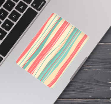 Decorate your touchpad on your laptop with this amazing laptop skin cover. Don't wait any longer and order this amazing design now!