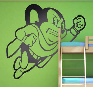 Super Might Mouse Wall Decal