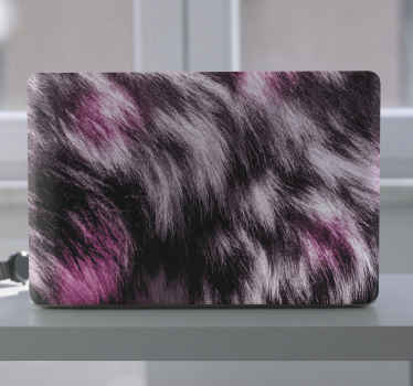 An abstract animal skin texture decorative laptop decal to change the face of your laptop. Made of quality material, easy to apply and removable.