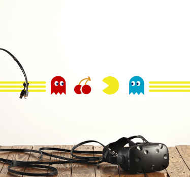 This wonderful gaming wallsticker product will surely bring your room so much more light! Order this fancy product now from Tenstickers!