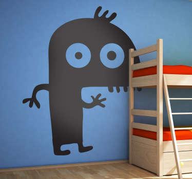 Small Monster Kids Sticker
