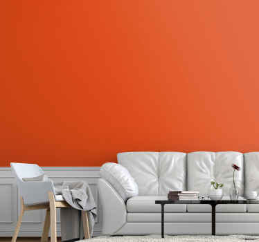 Present your space with this plain orange vinyl wall sheet that imitates a real painted wall in solid orange color. Made of quality and durable.
