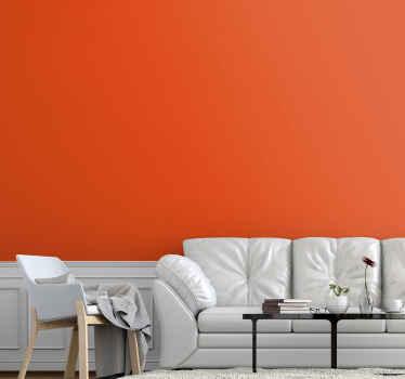 Presentera ditt utrymme med detta vanliga orange vinylväggsark som imiterar en riktig målad vägg i solid orange färg. Gjord av kvalitet och hållbar.