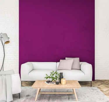 ändra ditt vardagsrum, sovrum eller något annat utrymme i hemmet eller kontoret med vårt ursprungliga lila vanliga vinylväggsark som imiterar en målad vägg