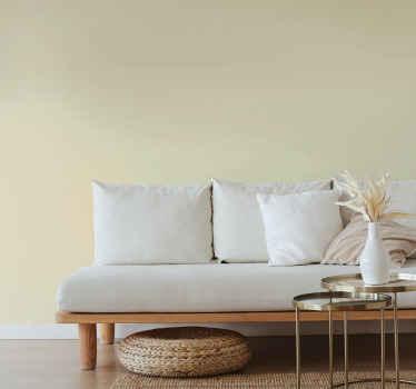 Vi fick dig täckt med vårt beige vanligt väggdekal som du kan applicera på din vägg och installera utseendet på en realistisk målad beige.