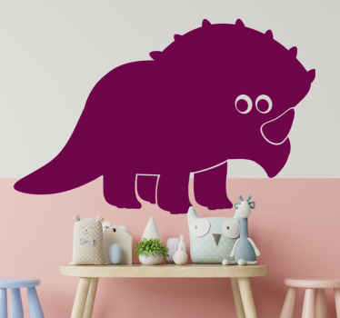 Enjoy this amazing dinosaur wall decal,  It is very attractive and colorful, perfect to decorate your home or office.  Buy now online! Easy to apply!