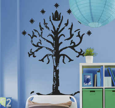 Change the look on any space with our high quality tree vinyl home decal design from lord of the ring movie sticker collection.
