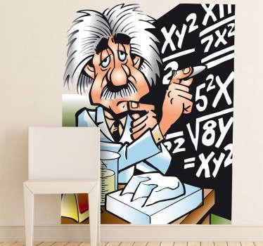 Sticker enfant Einstein tableau