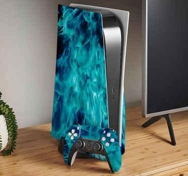 Avec notre incroyable décalcomanie playstation blue fire ps5, votre appareil se démarquerait n'importe où. Protégez l'appareil contre les rayures.