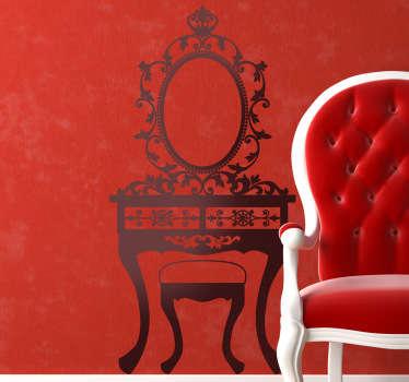 Nineteenth Century Furniture Decorative Decal