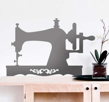 Vinilo decorativo máquina de coser