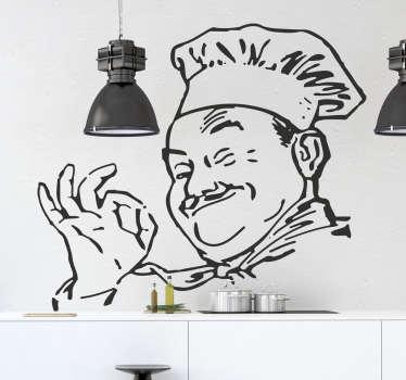 Nakleja do kuchni happy cook